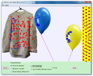 Balloons and Static Electricity Screenshot