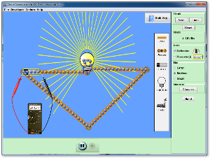 Circuit Construction Kit (DC Only), Virtual Lab Screenshot