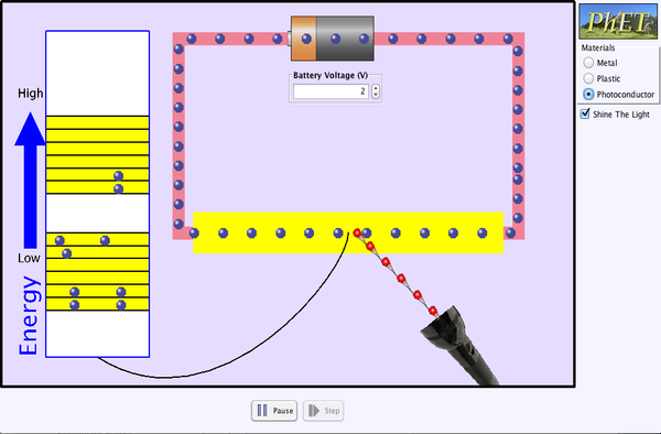Conductivity Screenshot