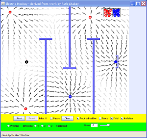 Electric Field Hockey Screenshot