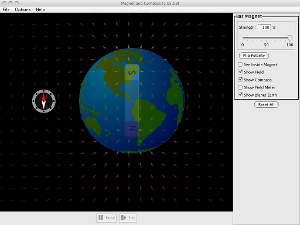 Magnet and Compass Screenshot