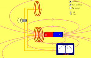 Faraday's Law Screenshot