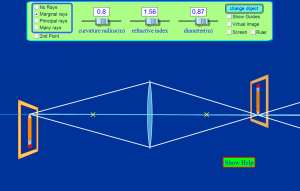 Geometric Optics Screenshot
