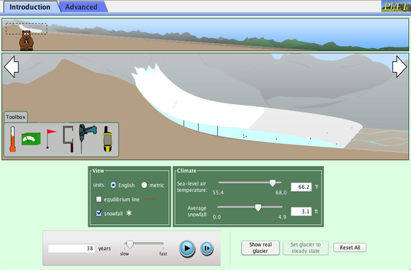 Glaciers Screenshot