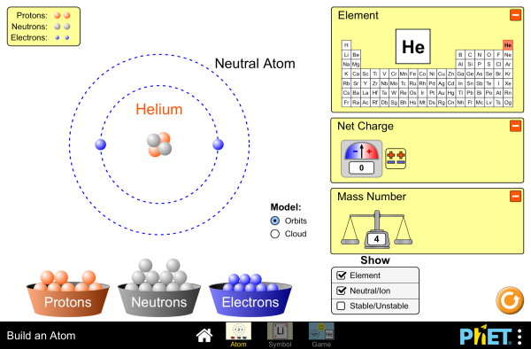 Build an Atom - Atoms : Atomic Structure : Isotope Symbols ...