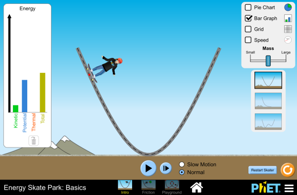 Energy Skate Park: Basics Screenshot
