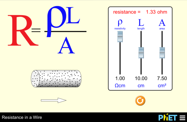 Resistance of a wire coursework help