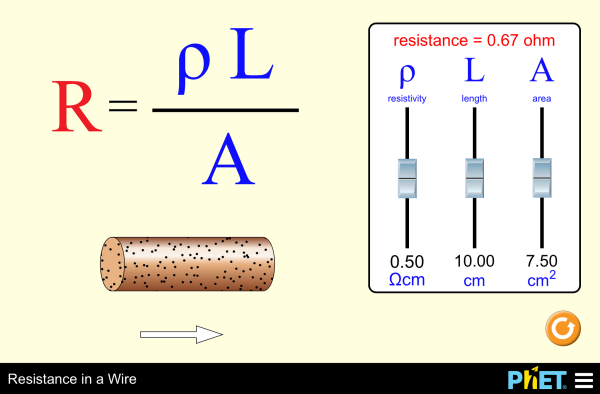 Wire Resistance | Index Of Sims Html Resistance In A Wire 1 2 5