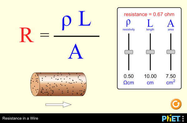 Resistance and resistivity physics resistance in a wire screenshot keyboard keysfo Images