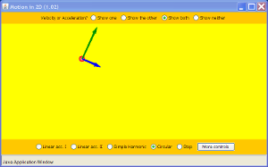 Motion in 2D Screenshot