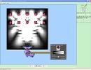 Screenshot of the simulation Davisson-Germer: Electron Diffraction