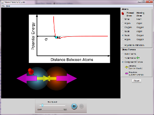 Atomic Interactions Screenshot
