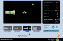 Screenshot of the simulation Molecules and Light